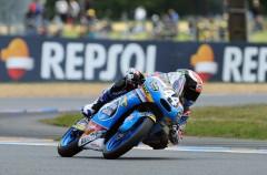 Arón Canet gana la carrera del Mundialito Júnior Moto3 en Le Mans