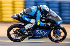 Romano Fenati gana la carrera Moto3 en Le Mans, Bastianini 2º y Bagnaia 3º
