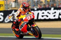 Marc Márquez logra la pole de MotoGP en Le Mans, Dovi 2º y Lorenzo 3º
