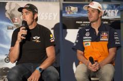 Presentación del Dakar Tour 2016 en Barcelona con los protagonistas