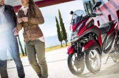 Yamaha presenta su versión ABS de la Tricity