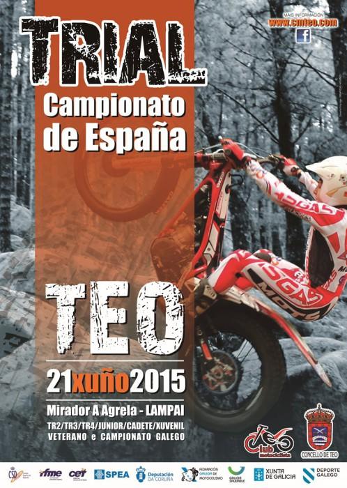 El Nacional de Trial 2015 vuelve a la acción en Teo, A Coruña