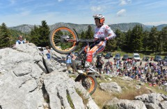 Bou y Raga ganan las pruebas del Mundial Trial Outdoor en Francia