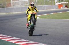 Edgar Pons controla la carrera de Moto2 Europeo en Catalunya, Marini 2º y Techer 3º