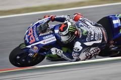 Jorge Lorenzo domina la carrera de MotoGP en Barcelona-Catalunya, Rossi 2º y Pedrosa 3º