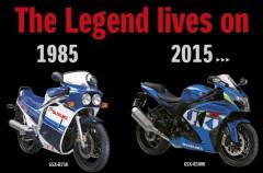Suzuki celebra el 30º cumpleaños de la Suzuki GSX-R con una edición limitada