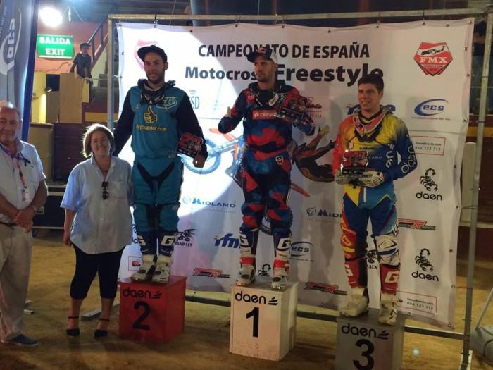 Pódium Freestyle Fuengirola 2015