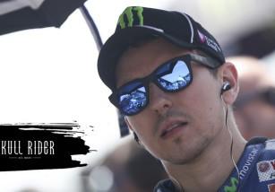 Jorge Lorenzo presenta la nueva línea Skull Riders y habla sobre el Rossi vs Márquez