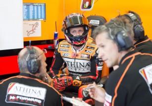 El equipo Forward Racing no estará en MotoGP Indy 2015, volverán en Brno