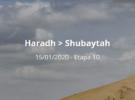 Dakar 2020: Etapa 10: Haradh > Shubaytah