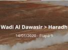 Dakar 2020: Etapa 9: Wadi Al Dawasir > Haradh