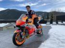 Pol Espargaró descubre su Honda MotoGP con el 44