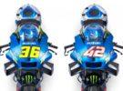 Presentación del equipo Suzuki MotoGP con Joan Mir y Álex Rins
