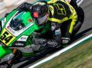 Fermín Aldeguer consigue la victoria del FIM CEV Moto2 en Valencia