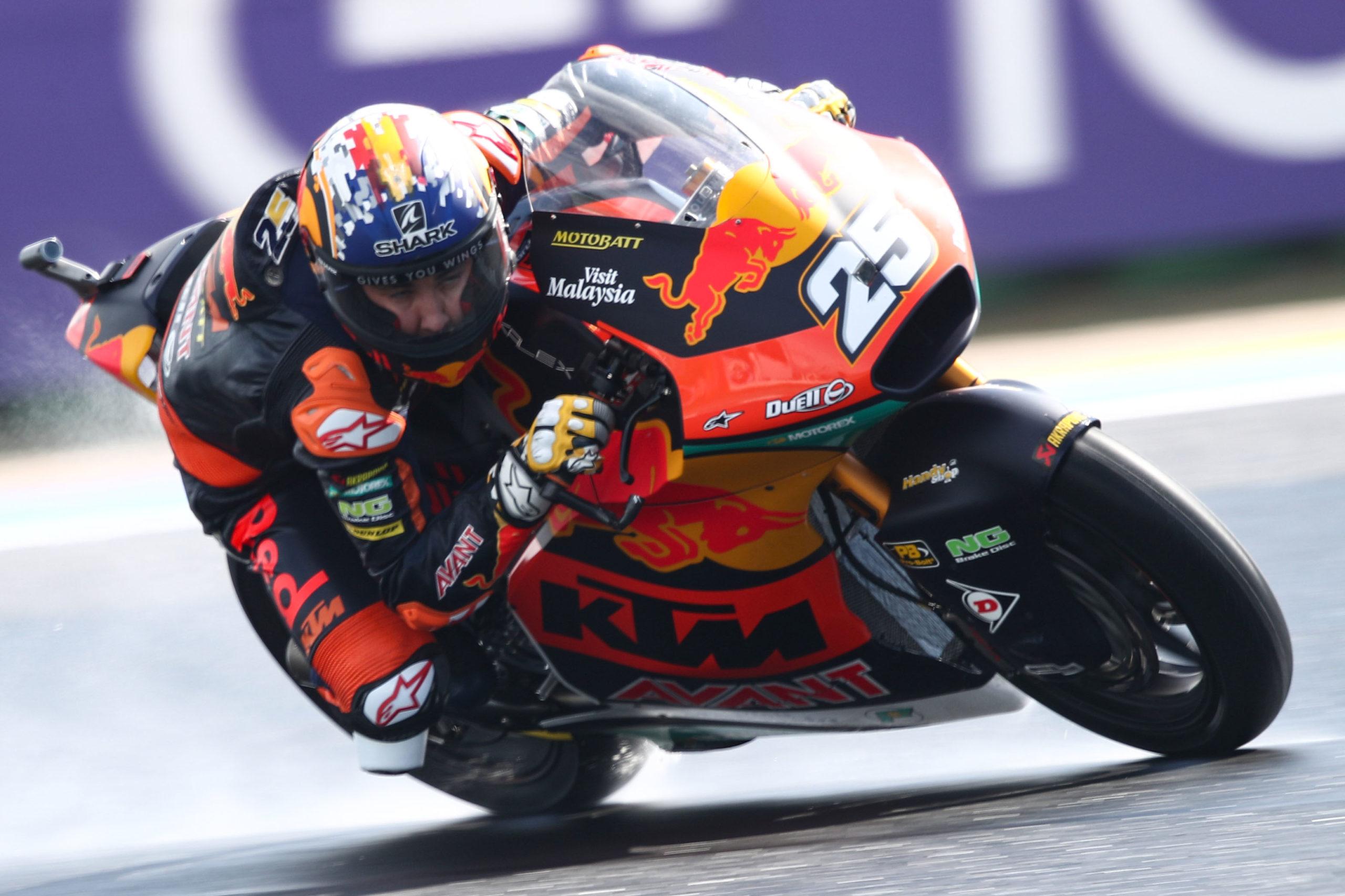 Raul Fernandez Moto2