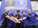 Franco Morbidelli y el equipo oficial de Yamaha unidos en MotoGP hasta 2023