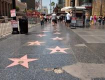 La avenida Hollywood Boulevard, en Los Ángeles