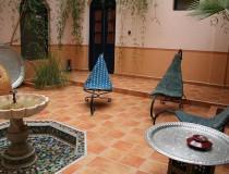 Los riads, alojamientos tradicionales
