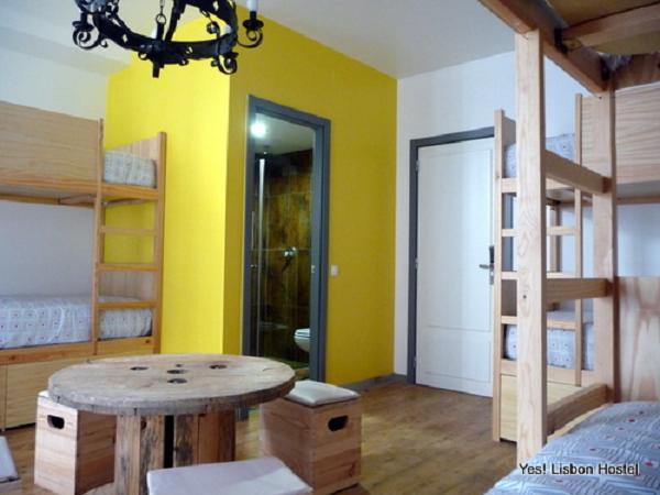 Alojarse en un hostal en Lisboa