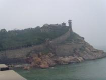 La hermosa costa de Penglai
