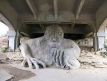 Fremont Troll, curiosa y colosal estatua en Seatle