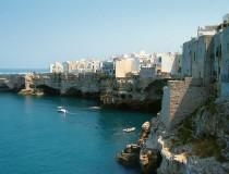 Polignano a mare, un paraíso sobre el Adriático
