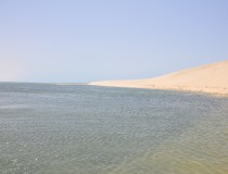 Deportes acuáticos en la bahía de Dakhla