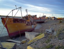 Playa Unión en Chubut