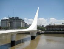 Puente de la Mujer en Buenos Aires