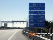El peaje en Portugal