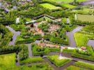 Bourtange, una villa con forma de estrella