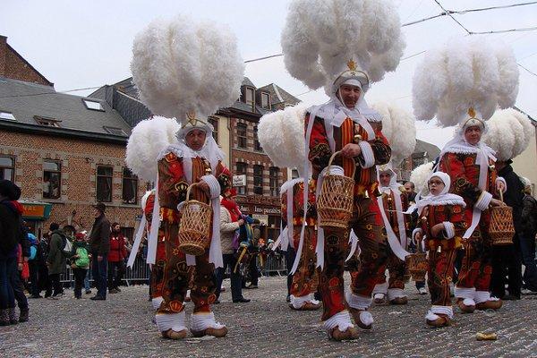 Los carnavales más famosos de Bélgica