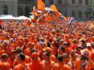 La devoción por el color naranja en Holanda