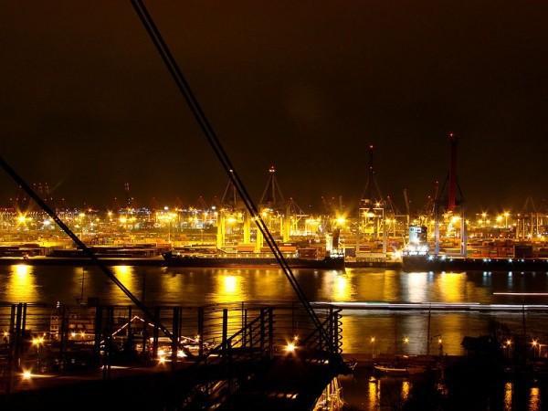 Un puerto turístico