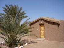Camping Les Palmeraies, alojarse en un palmeral en medio del desierto