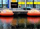 Dormir en una capsula de salvamento, posible en La Haya