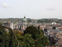 Namur, ciudad universitaria y capital de Valonia