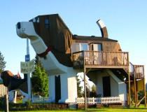 Dog Bark Park Inn, el hotel con forma de perro