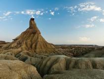 Bárdenas Reales, interesantes formas naturales gracias a la erosión de la tierra