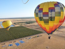 Volar en globo sobre California