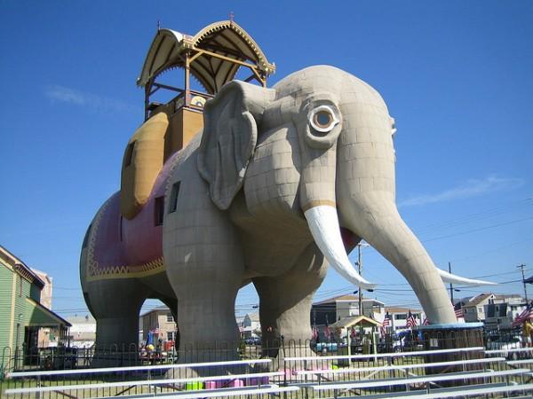 Lucy, la elefanta de Margate City