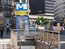 El metro de Bruselas