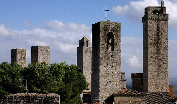 San Gimignano, el pueblo de las torres medievales