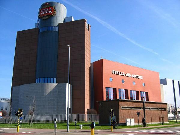 Fábrica de cerveza de Stella Artois, en Lovaina