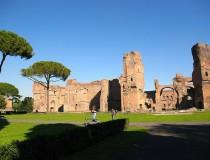 Termas de Caracalla, uno de los baños más lujosos de la época romana