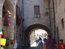 Asís o Assisi, ciudad natal de san Francisco
