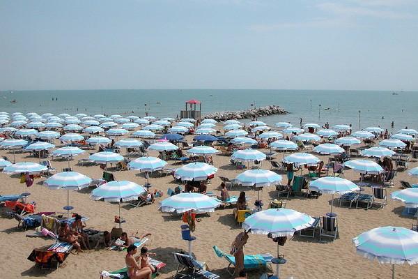 Al norte de Italia frente al mar Adriático