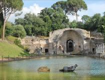 Villa Adriana, área de recreo de los emperadores