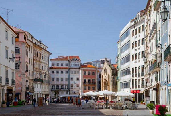 La Plaza del Comercio, una de los rincones con más encanto de Coimbra