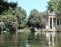 Parque Villa Borghese, naturaleza y arte